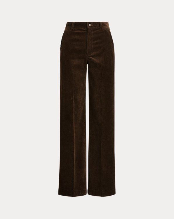 Corduroy Straight-Leg Trouser