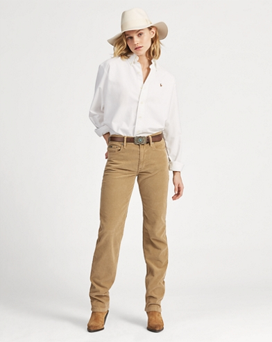 Reede High-Rise Corduroy Trouser
