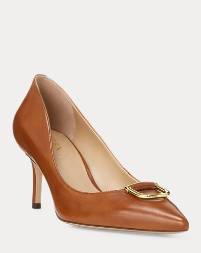 London Leather Pump
