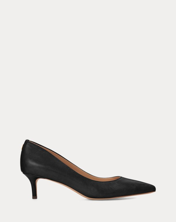 Adrienne Leather Pump
