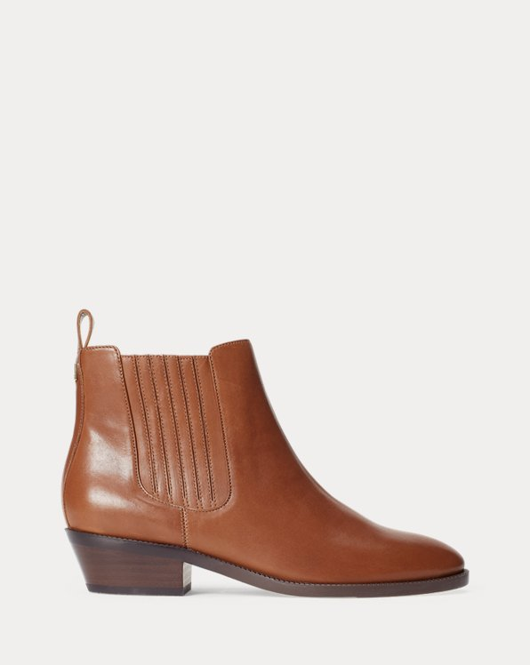 Erica Leather Bootie