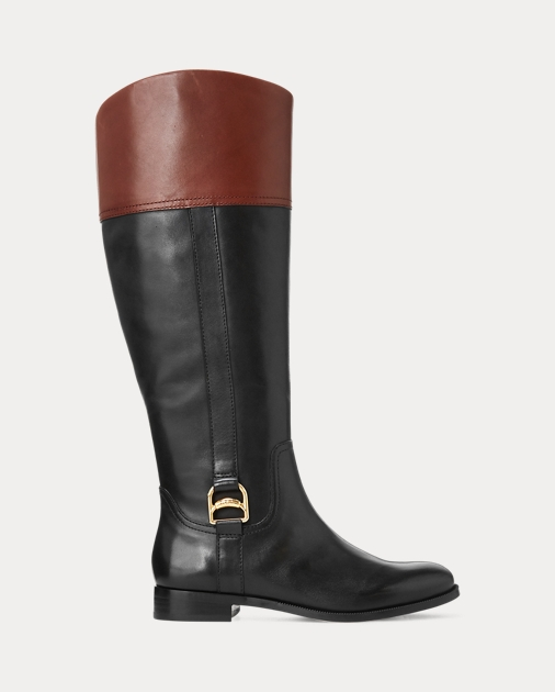 Bernadine Leather Boot by Ralph Lauren