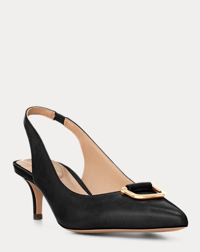 Amsberg Leather Slingback