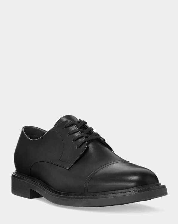 Asher Leather Cap Toe Shoe