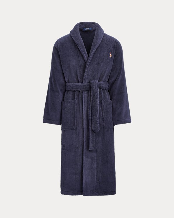 Cotton Terry Shawl Robe