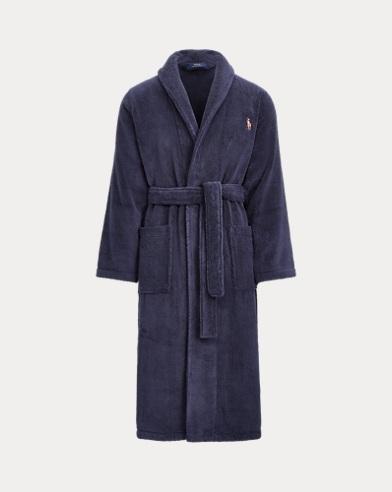 Cotton Terry Shawl Robe