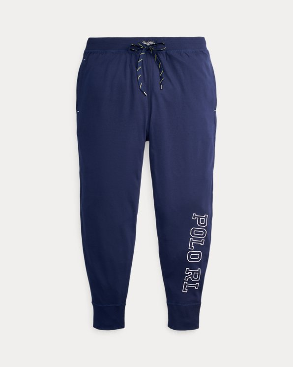 Pantalón jogger en punto jersey