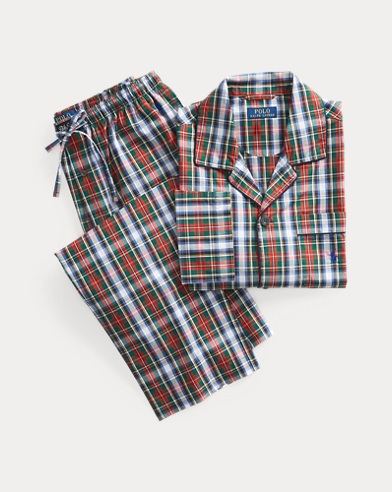 Plaid Cotton Sleep Set