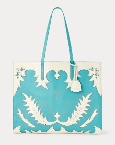 Calfskin Oversize Tote Bag