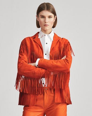 Bryleigh Lamb-Suede Jacket