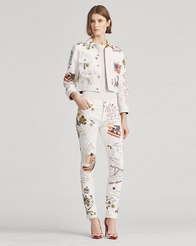 Embellished 160 Slim Jean