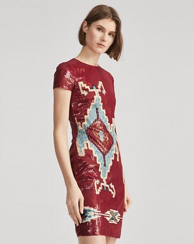 Embellished Cady Dress