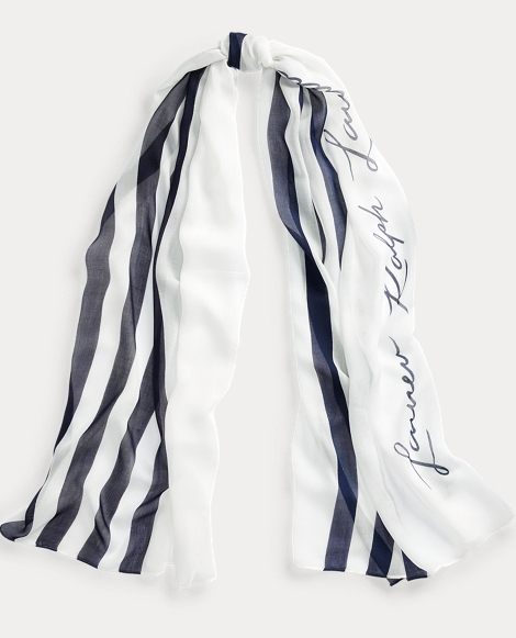 Nora Striped Scarf