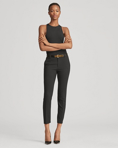 Heidi Stretch Wool Skinny Pant