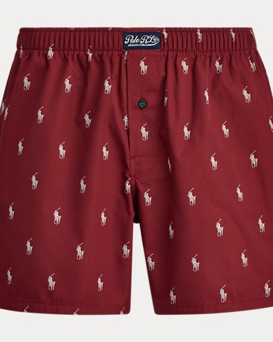 Allover Pony Cotton Boxers
