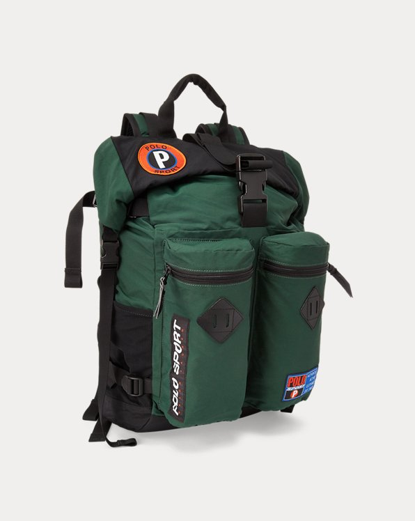 Polo Sport Roll-Top Backpack