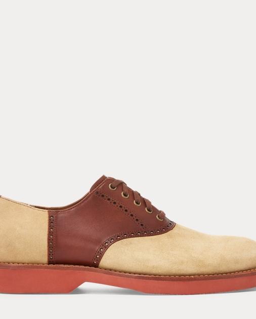 Rhett Suede Saddle Shoe by Ralph Lauren