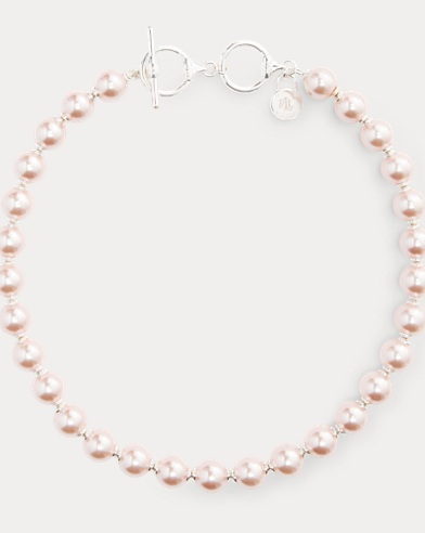 Faux-Pearl Necklace