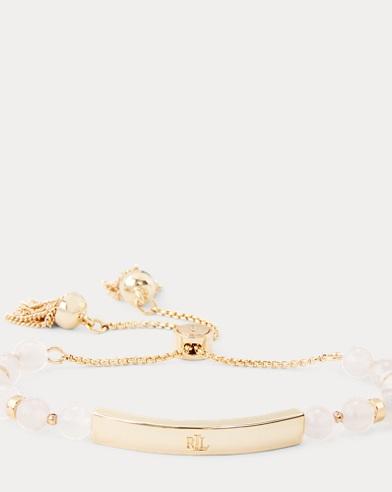 Rose Quartz Slider Bracelet