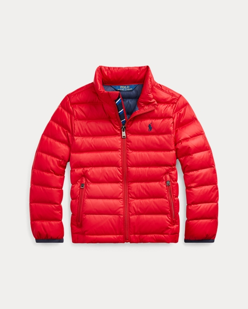 Boys 2-7 Packable Quilted Down Jacket 1