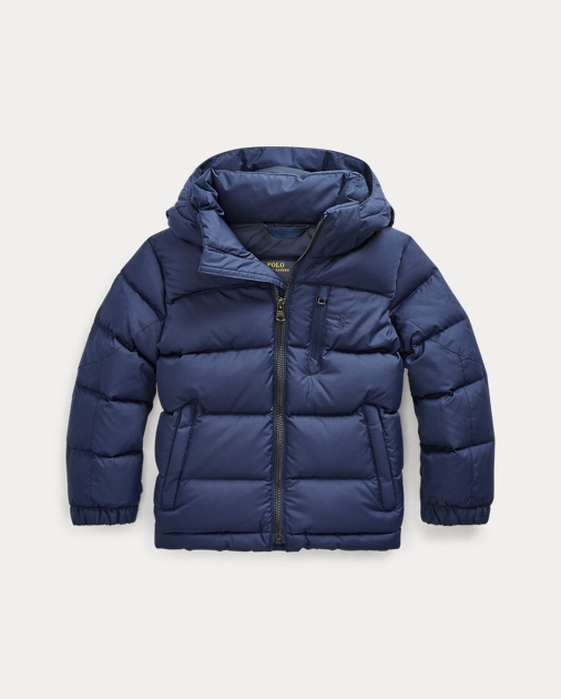 Boys 2-7 Hooded Down Jacket 1