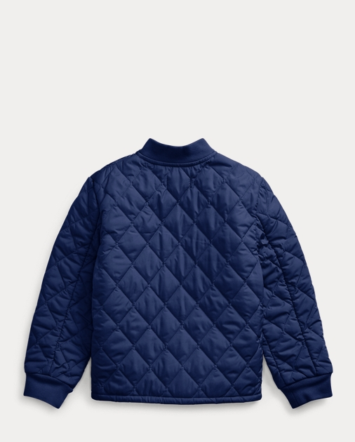 BOYS 1.5-6 YEARS Quilted Water-Repellent Jacket 2