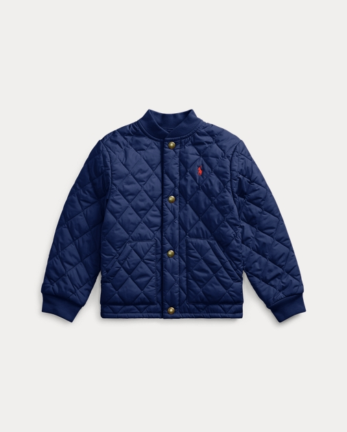 outlet d6831 b7dc5 Quilted Water-Repellent Jacket