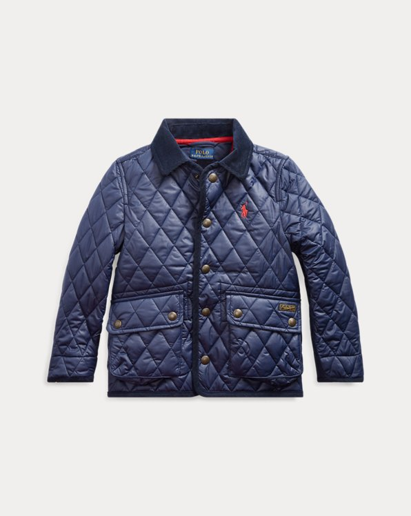 The Iconic Quilted Car Coat