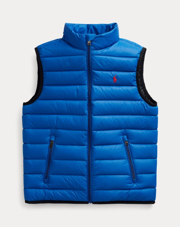 Packable Quilted Down Gilet