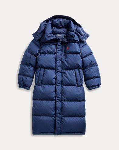 Down Hooded Coat