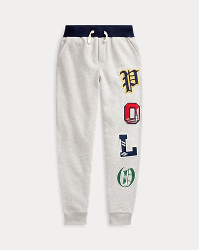 Fleece Graphic Jogger Trouser