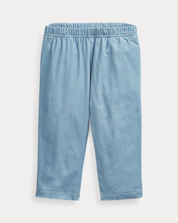 Pantalon à enfiler velours côtelé