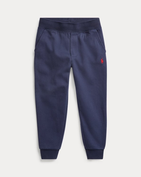 Cotton-Blend Drawstring Trouser
