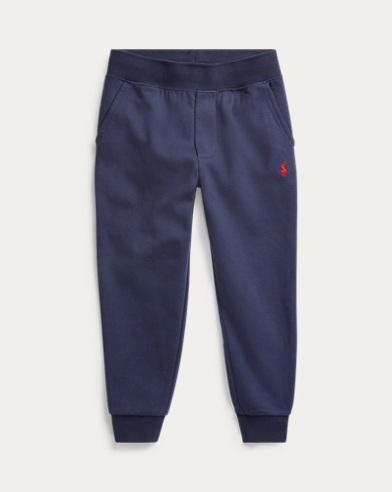 Pantaloni in misto cotone con coulisse