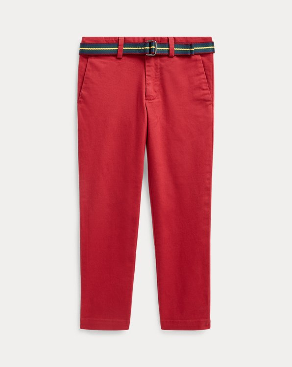 Belted Super Skinny Chinos