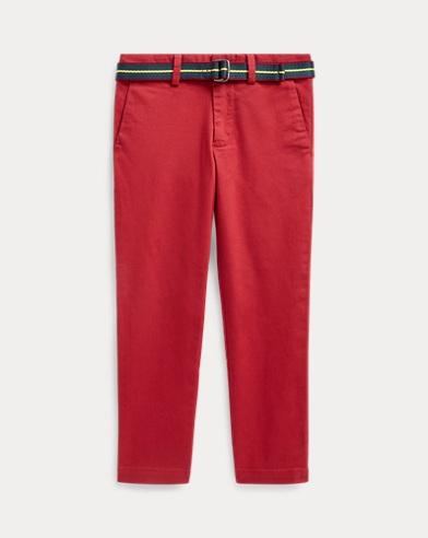 Pantaloni chino con cintura Super-Skinny