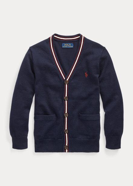 Polo Ralph Lauren Cotton V-Neck Cardigan