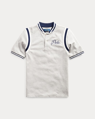 Cotton Mesh Graphic Shirt