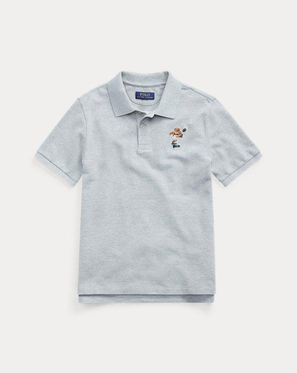Polo en coton piqué Kicker Bear