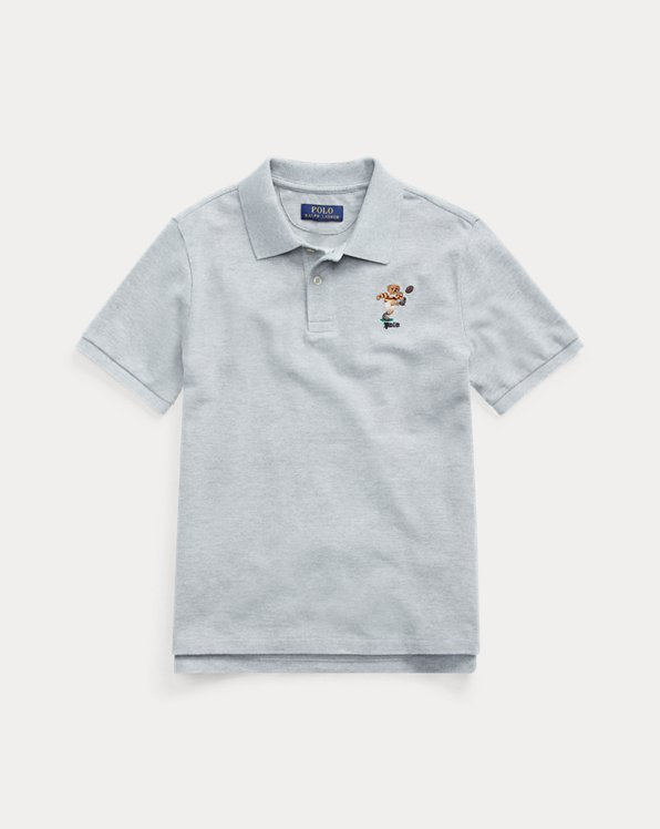 Kicker Bear Cotton Mesh Polo