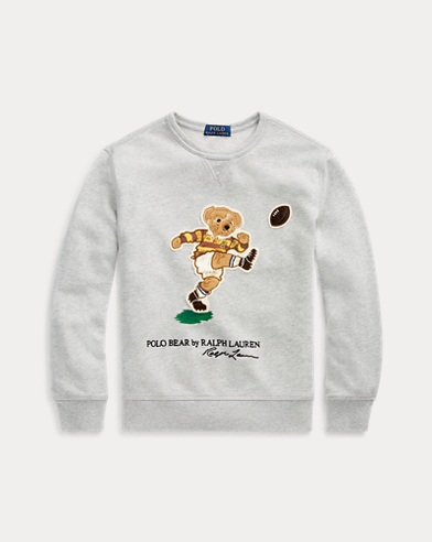 Rugby Bear Cotton Sweatshirt