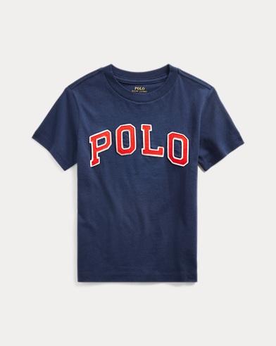 T-shirt Polo en jersey de coton