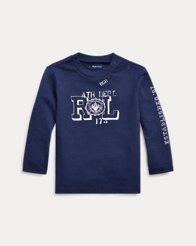 Graphic Long-Sleeve Cotton Tee