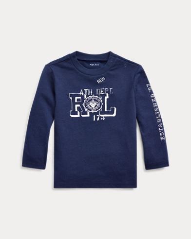 T-shirt graphique à manches longues