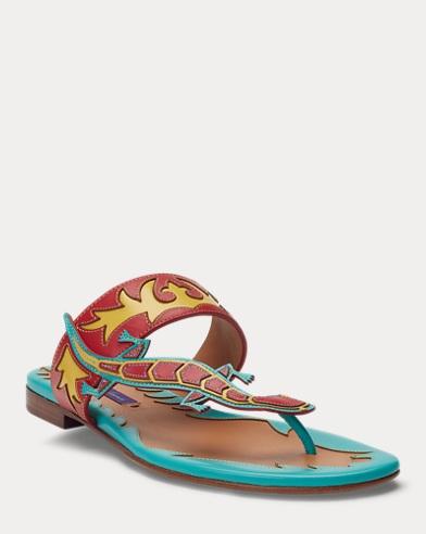 Ellouise Calfskin Sandal