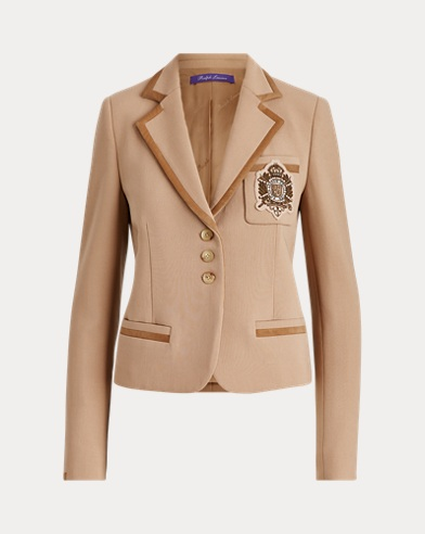 Premda Crest Wool-Blend Jacket