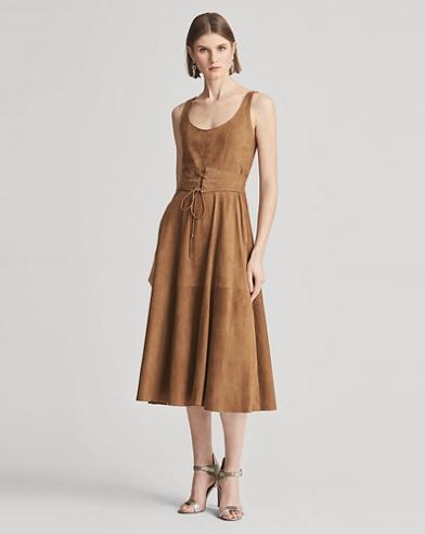 Bingham Lamb-Suede Dress