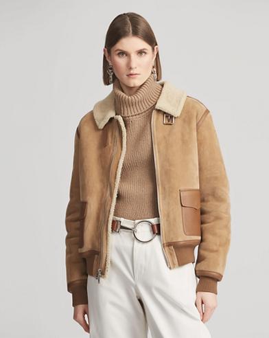 Willard Shearling Coat