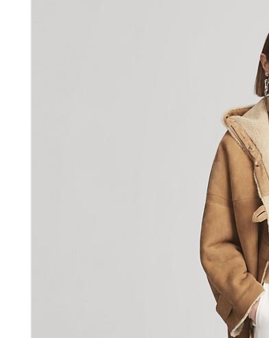 Jodi Shearling Toggle Coat