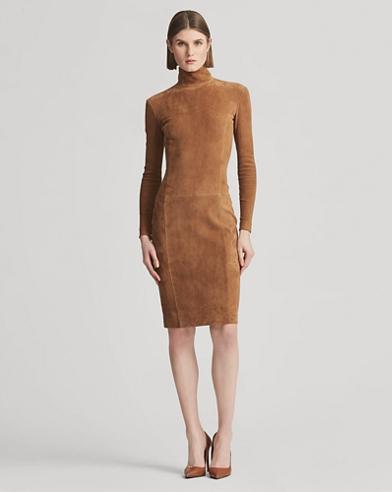Rosalia Lamb-Suede Dress
